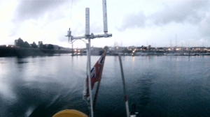 Leaving Cherbourg